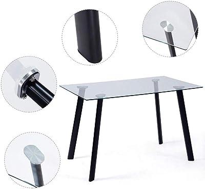 Modern Loft Mesa Plegable, Blanco, 103 x 76 x 73.4 cm ...