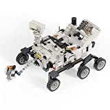 48997 Perseverance Mars Rover & Ingenuity Helicopter - NASA Building Blocks Creative Car Model Toys(661 PCS)
