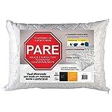 Fibrasca 4115 - Travesseiro Suporte Firme Pare para Fronhas 50 x 70 Cm, Branco
