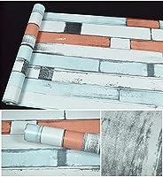 壁紙はがせる耐木石45 × 980CMワードローブテーブルドアリビングルームステッカー壁紙の掃除が簡単