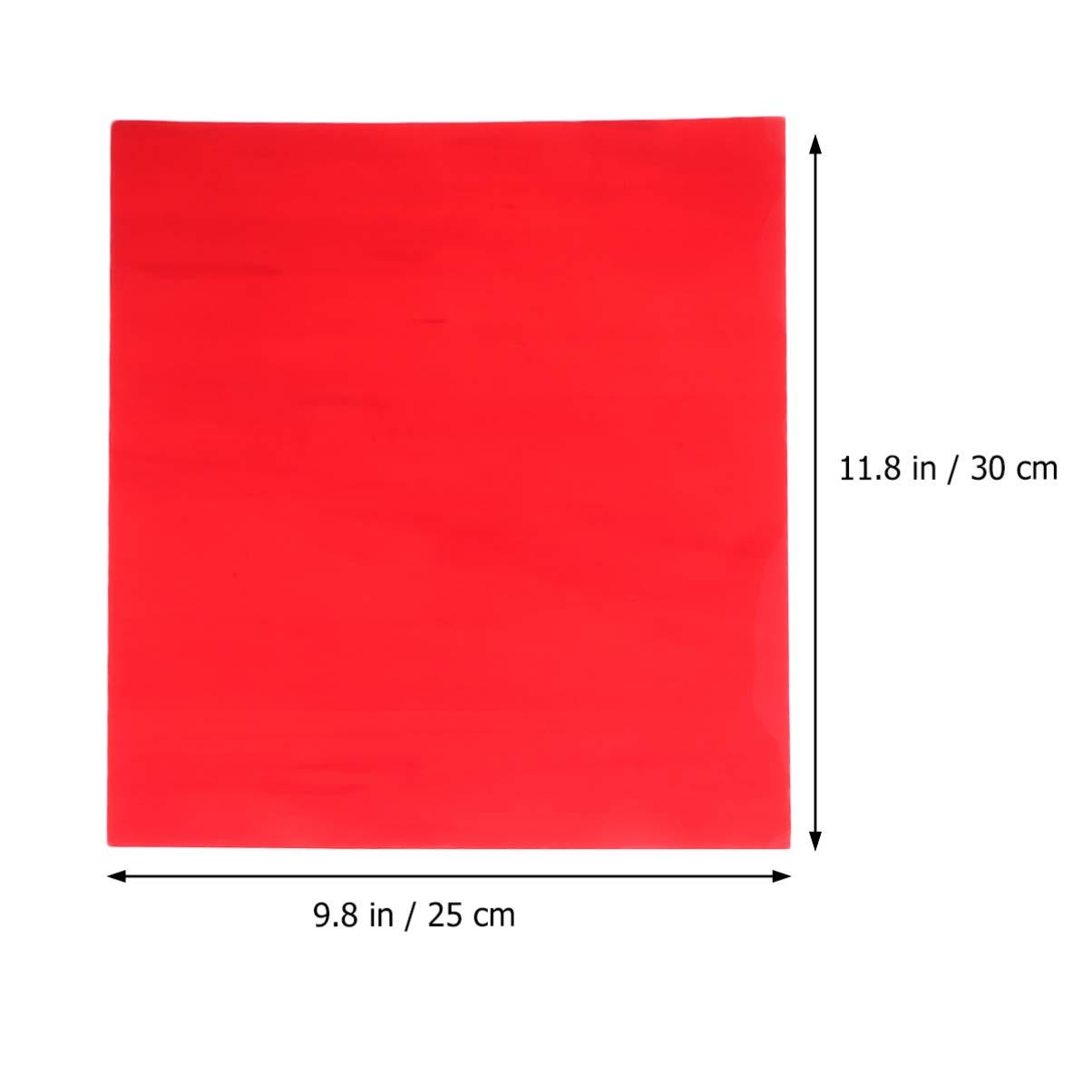 HEALLILY vinilo de transferencia de calor htv para camisetas papel de película de transferencia para carteles de muebles de ropa de bricolaje 12 piezas: Amazon.es: Hogar