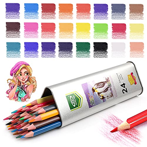 Art Colored Pencils & Drawing Color Pencil Set,for Adults & Kids Beginners and...