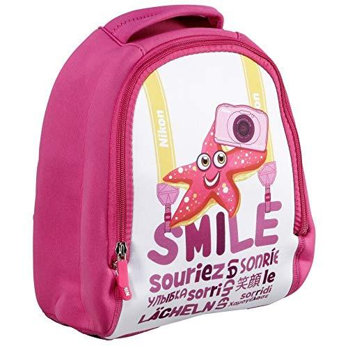 Nikon Kinder Rucksack/Backpack for COOLPIX S33 Digital Camera (Pink)