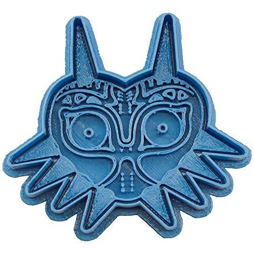 Cuticuter Majora'S Mask The Legend of Zelda Cortador de Galletas, Azul, 8x7x1.5 cm