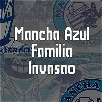 Mancha Azul Familia Invasão