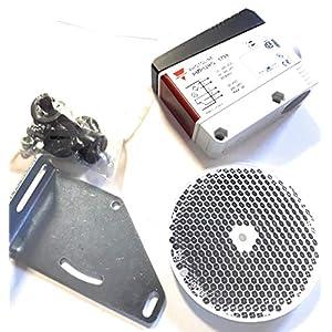 Fotoclula-de-reflexin-profesional-para-puerta-de-garaje-automticas-Universal-para-cualquier-motor-de-garaje-del-mercado