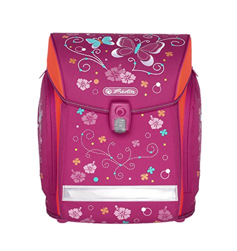 Herlitz 50007752 schooltas midi, 38 cm, roze