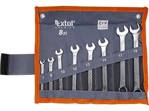Extol Premium–Chiave combinata, Set 8pezzi, 6319