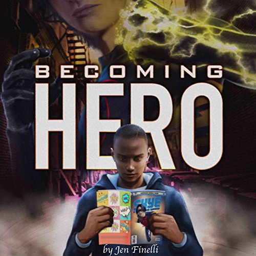 Becoming Hero audiobook cover art