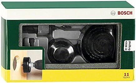 Bosch 2607019450-000, Jogo Serras-Copo, Cinza, 11 Peças