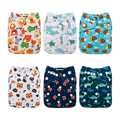 Babygoal Baby Reusable Cloth Diapers
