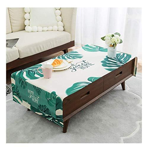 GCXZB Mantel - Casa algodón Mantel Rectangular Sala de Estar gabinete TV Mesa de café Toalla (Color: a, Tamaño: 70 * 170 cm) Manteles (Color : C, Size : 50 * 150cm)