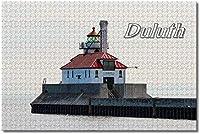 BEI YU MAN.co アメリカアメリカダルースミネソタ灯台ジグソーパズル大人用子供1000ピース木製パズルゲームギフト用家の装飾特別な旅行のお土産