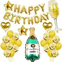 Termichy Globos de Cumpleaños de con Botella de Cerveza