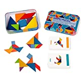 Magnet With Tangram Puzzles