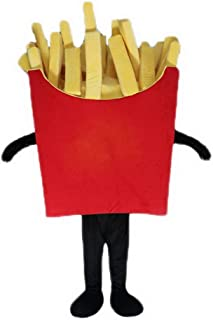 french fry mascot