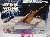 ERTL Star Wars Episode I Naboo Starfighter Die Cast Model Kit 1:48 Model: Model Kit, Toys & Games for Kids & Child by Toys & Child [並行輸入品]