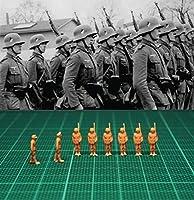 ◆1/144 レジンキット B506 WWII German Officer inspecting (Super Fine Detail 8 figures)