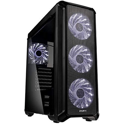 Zalman i3 schwarz – PC-Gehäuse ohne Netzteil – mittlere Tower – Format ATX