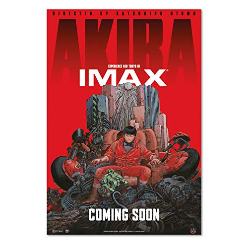 Pira Pira Boxes Akira Movie Poster IMAX Artwork (24x36)