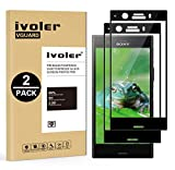 ivoler [2 Pack] Compatible with Sony Xperia XZ1 Compact