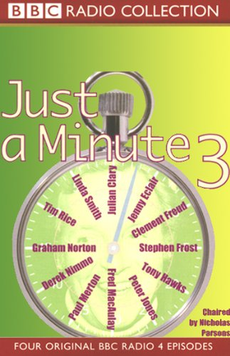 Just a Minute 3 audiobook cover art