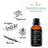Stellar Naturals Breathe Easy Essential Oil Blend - Pure Therapeutic...