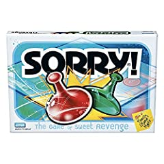 CLASSIC SORRY! GAMEPLAY: Do you remember playing the original Sorry! game when you were a kid? Introduce your kids to classic Sorry! gameplay. It's a fun family game for adults and kids ages 6 and up INCLUDES 16 PAWNS (COLORS MAY VARY): Each player i...
