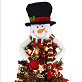 Top 10 Snowman Tree Toppers
