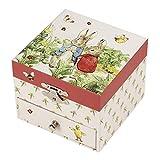 Trousselier - Caja para Tesoros Musicales Peter Rabbit, Fresa (S20861)