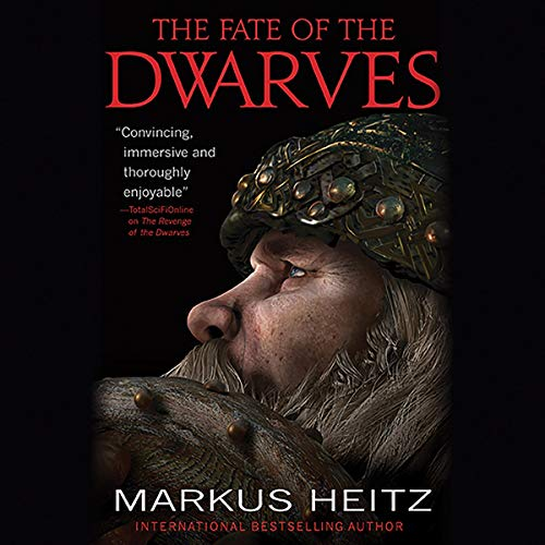The Fate of the Dwarves audiobook cover art