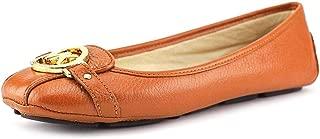 Women¡¯s Luggage Leather Fulton Moc Flats 8 (B) US Women