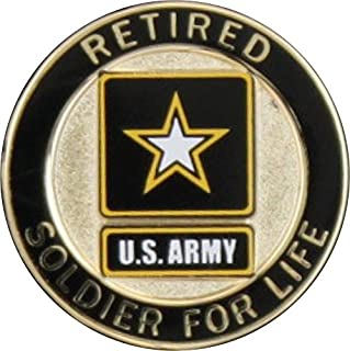 MilitaryBest Soldier for Life Retired Lapel Pin