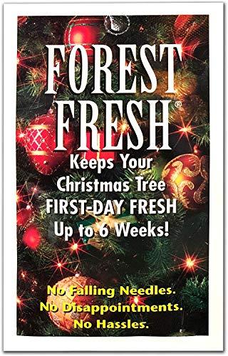 Forest Fresh - Árbol de Navidad conservante – Mantiene tu árbol Fresco Toda la Temporada de día Festivo – 1 Paquete (8 tabletas)