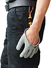 Inf-way Fishing Glove with Magnet Release, Fisherman Professional Catch Fish Gloves Cut&Puncture Resistant with Magnetic Hooks Hunting Glove 1pcs