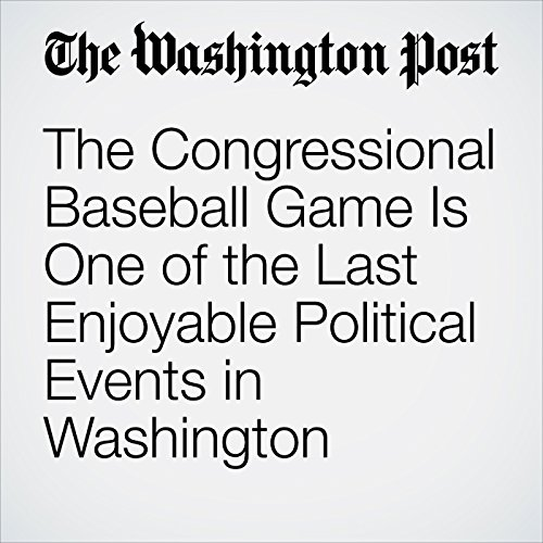 The Congressional Baseball Game Is One of the Last Enjoyable Political Events in Washington copertina