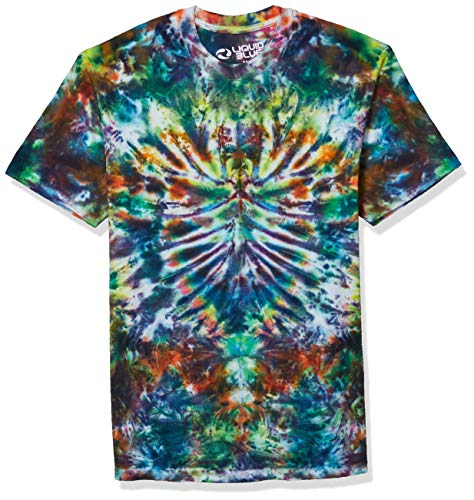 Liquid Blue Men's Crazy Krinkle T-Shirt, Tie Dye, XX-Large