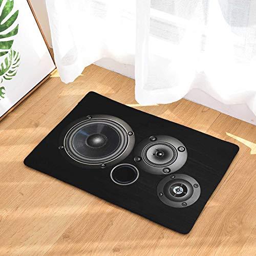 OPLJ Persönlichkeit Retro Kamera Digital Tape Türmatte Indoor Bodenmatte Anti-Rutsch-Türmatte Waschbarer Teppich A8 60x90cm