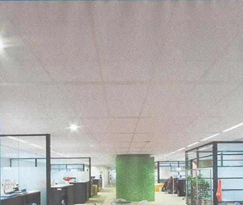 Rockfon Ekla faux plafond en panneau de laine de roche 60 x 60cm