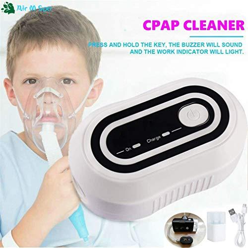 Oplaadbare batterij CPAP Cleaner Ventilator Sanitizer 2000mAh CPAP Auto CPAP Disinfector slaapapneu OSAHS OSAS anti snurken voor Machine Tube Mask
