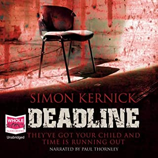 Deadline                   By:                                                                                                                                 Simon Kernick                               Narrated by:                                                                                                                                 Paul Thornley                      Length: 10 hrs and 19 mins     146 ratings     Overall 4.2