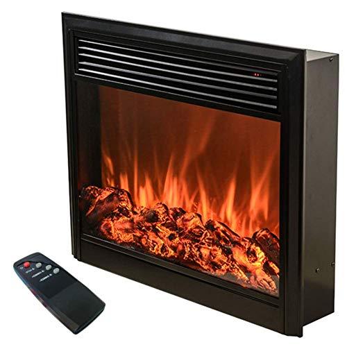 SEESEE.U Hogar Chimenea eléctrica Decorativa 750 1000 W Fuego de Alta simulación...