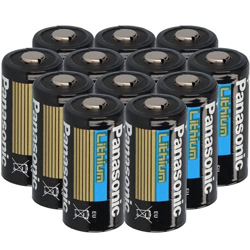 12x 3V CR123 CR123A DL123 A Batterien CR17345 Ultra Lithium Foto AKKUman Set (12 Stück)