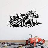 wZUN Sala de Estar habitación de niño Dibujos Animados murciélago Pegatinas de Pared cómic Decorativo Arte de Pared Mural 42X23cm