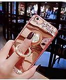 EMAXELERS Funda iPhone 7/8 Plus, Ligera Silicona Suave TPU Gel Bumper Cover de Protección Antideslizante [Anti-Rasguño] Caso para iPhone 7/8 Plus 5.5 Inch,Rose Gold