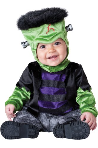 InCharacter Monster-Boo Infant/Toddler Costume, Medium (12-18) Black/Green