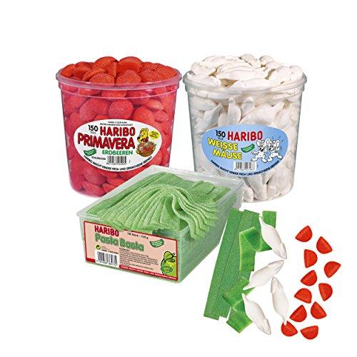 HARIBO Fussball Fan Paket Fahne Italia: Grün Weiß Rot