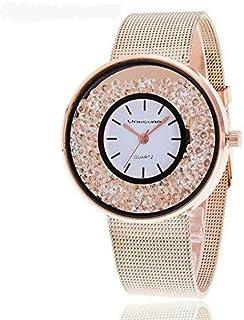 فانسفار ساعة رسمية نساء انالوج بعقارب ستانلس ستيل مطلي - 003R