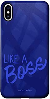 Macmerise IPCIXMPMI1114 Like A Boss Blue - Pro Case for iPhone XS Max - Multicolor (Pack of1)