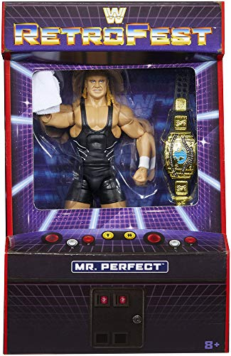RetroFest WWE Elite Exclusive Mr. Perfect Wrestling Action Figure Limited Edition